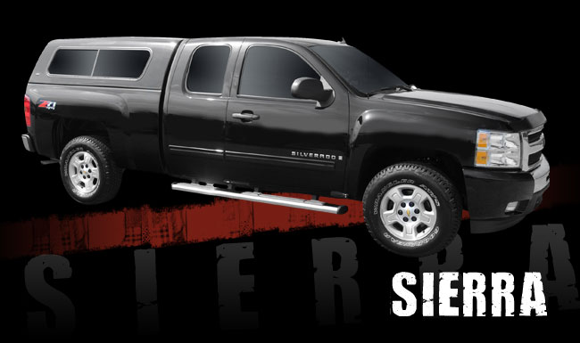 Ranch Sierra Fiberglass Topper At Truck Outfitters Plus