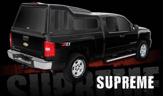 Ranch Supreme High Rise Fiberglass Topper At Truck