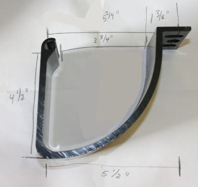 Truck Cap Or Topper Replacement Parts Door Hinges