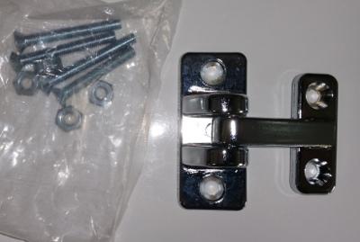 Leer Truck Cap Parts >> Truck Cap or Topper Replacement Parts - Door Hinges