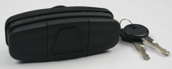 Leer 550 Handle - Tonneau Cover - Front Image