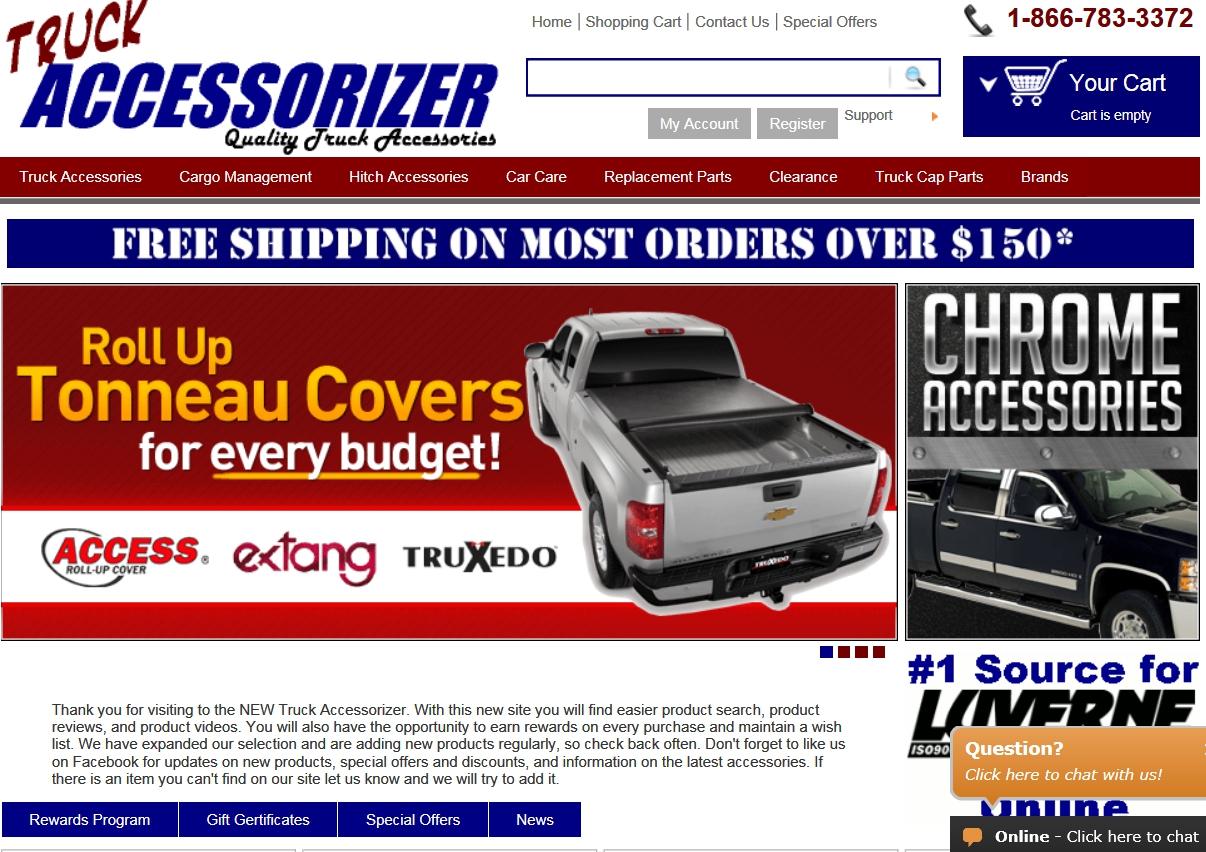 Truck accessorizer