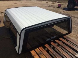Used Topper - 07-13 Chevy XSB Aluminum White (Image 1)