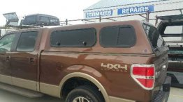 Used Topper - 09-14 Ford F150 - 6.5 ft - Brown (Image 1)