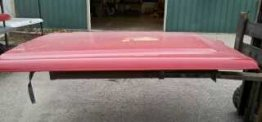 Used Truck Lid - 99-06 Chevy/GMC PU FS SB - Red (Image 1)